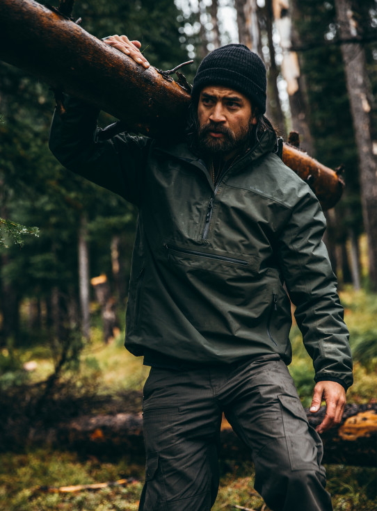 Swiftwater Rain Pullover