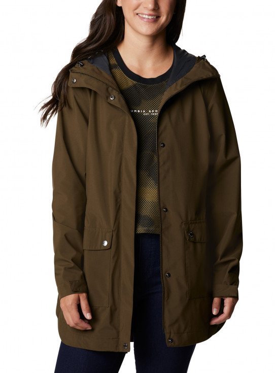Here And There Trench Jacket