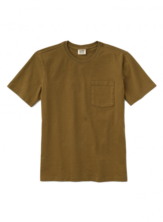 Womens Outfitter Solid One Pocket T-Shirt
