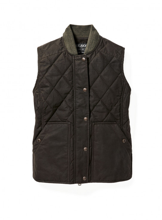 Womens Quilted Field Vest