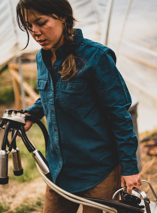 Womens Field Flannel Shirt