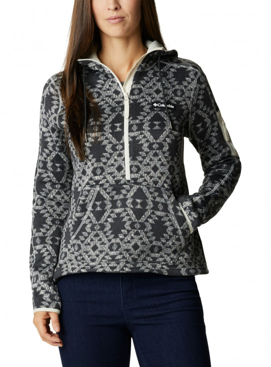 Womens Sweater Weather Hooded Pullover